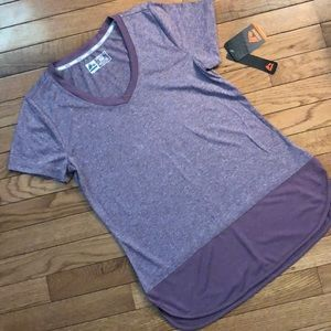 RBX V-neck short sleeve active top